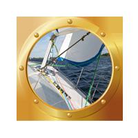 Sail-Boat-Gold-Circle Sail-Boat-Gold-Circle